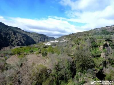 Alpujarra Granadina-Viaje Semana Santa;hoces del rio piedra los chorros de navafria las barracas de